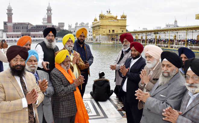 CKD office-bearers pay obeisance at Golden Temple