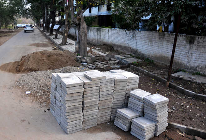 Paver blocks: 3-member MC panel to review all projects