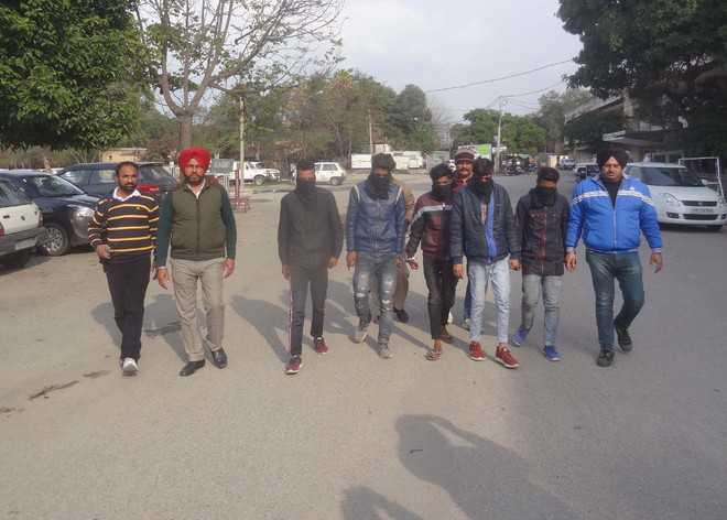 Five of snatchers' gang nabbed