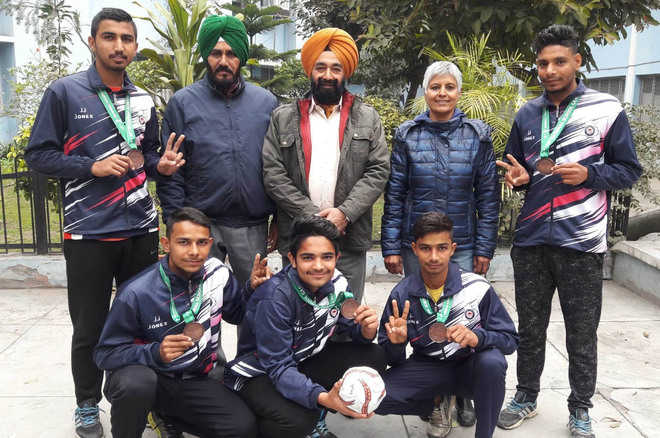 Sai Trainees Excel In National School Games The Tribune India