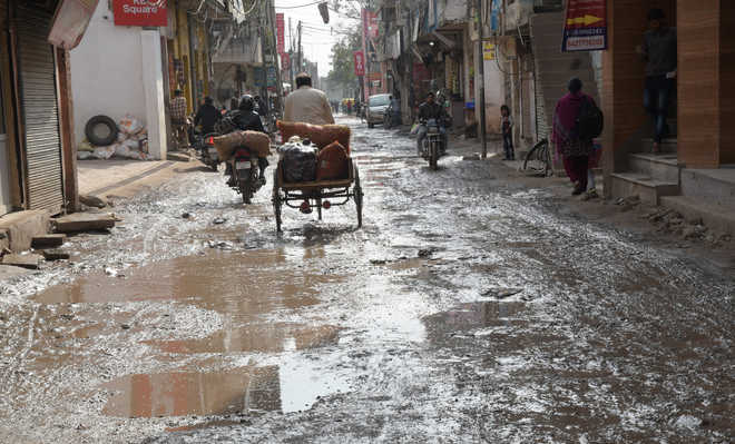 Roads in villages no one's baby, lament residents