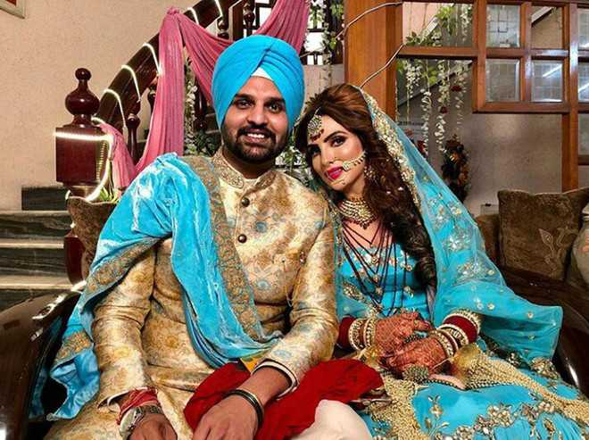 Pollywood actors Yuvraj Hans, Mansi tie the nuptial knot in city