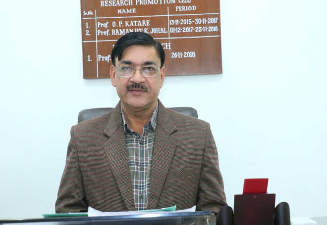 Prof Singla appointed Dean, Research, at PU