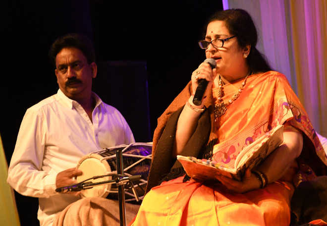 Tagore Theatre reverberates with bhajans