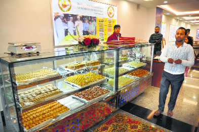 On Day 1, sweets sold like hot cakes at 'Srijan'