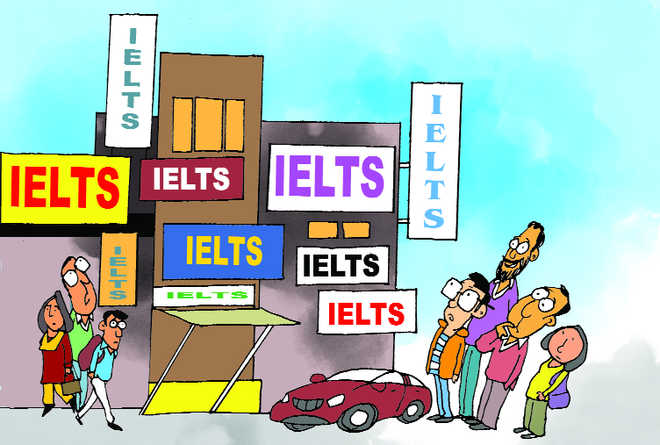 Foreign dreams make IELTS coaching  Rs 1,100-cr industry