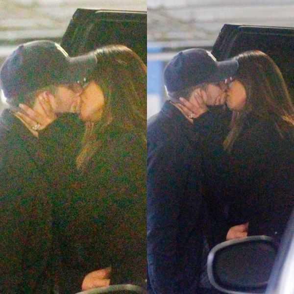 Image result for priyanka nick kissing in parking