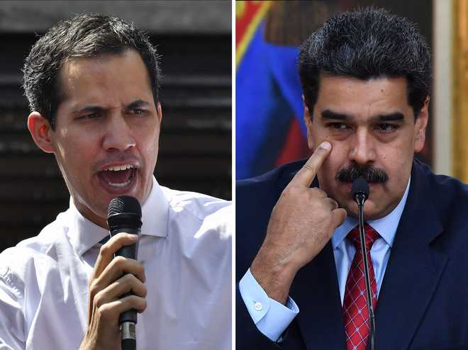 Venezuela's Guaido proposes all options be kept open to oust Maduro after aid blocked