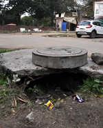 Blocked sewers plague market