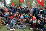 Employees' union protests, wants demands met