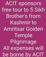 In gratitude, Kashmiris offer discounts and free services to Sikhs