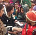 Martyr's daughter gets helping hand from MP Chopra's wife