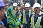 Harsimrat visits AIIMS construction...