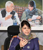 Waiting for PM to denounce attacks on Kashmiris: Mufti