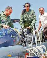 Sindhu first woman to fly Tejas