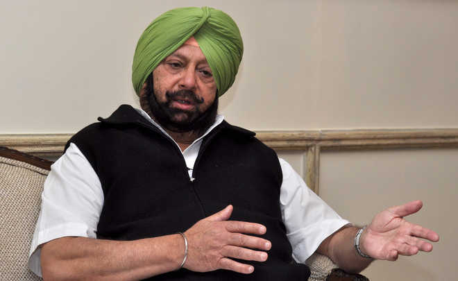 Image result for Amarinder will not receive pilot at Attari; continues tour of border districts