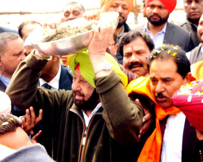 Capt launches water projects for Amritsar