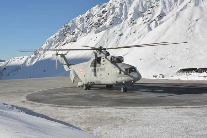 As Chinooks fly in, Mi-26 overhaul yet to take off