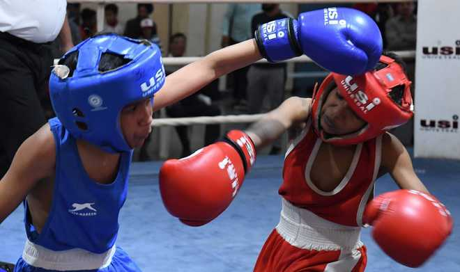 Gaurav punches his way to gold