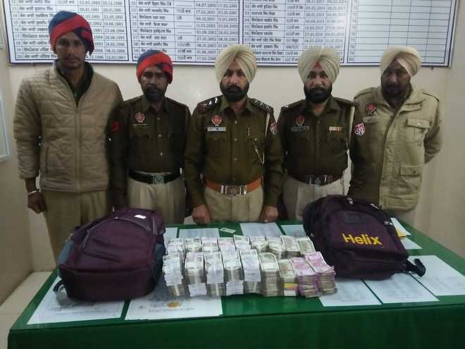 Patiala police seize Rs 92 lakh in unaccounted cash from Sangrur resident