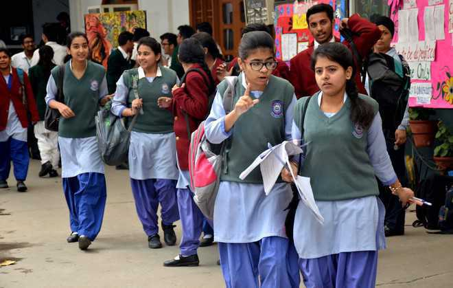 Class-8 students given Punjabi paper on day of Social Studies exam