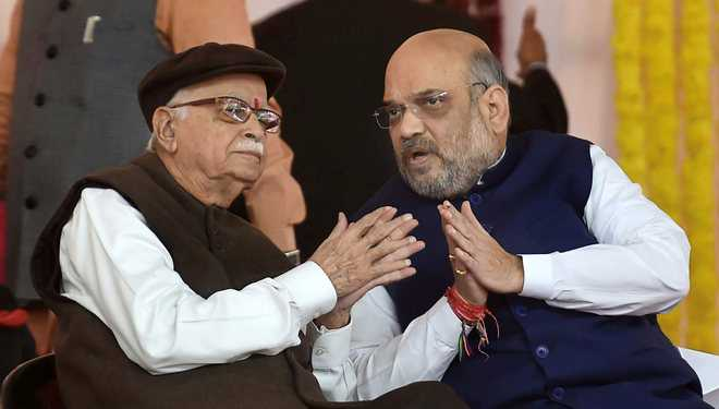 Shah may replace Advani in Gandhinagar