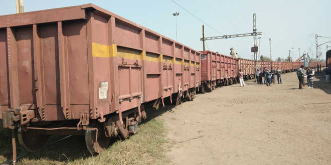 Major tragedy averted as three bogies of freight train derail