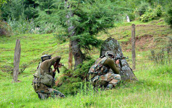 Heavy exchange of fire on Line of Control in Poonch district