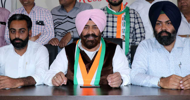 Sandhu stakes claim to Cong ticket from Bathinda