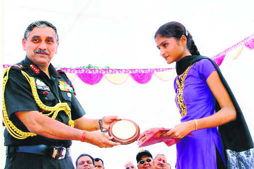 A goodwill gesture for martyrs' daughters