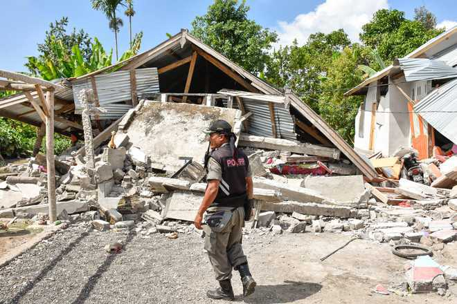 Thousands of kids homeless six months after Indonesia quake-tsunami