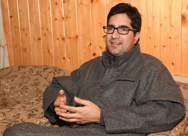 After party launch, Faesal on first visit to Jammu