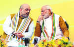 BJP repeat show in Gujarat   unlikely as vote share dips