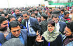 Mufti back in fray to make a point