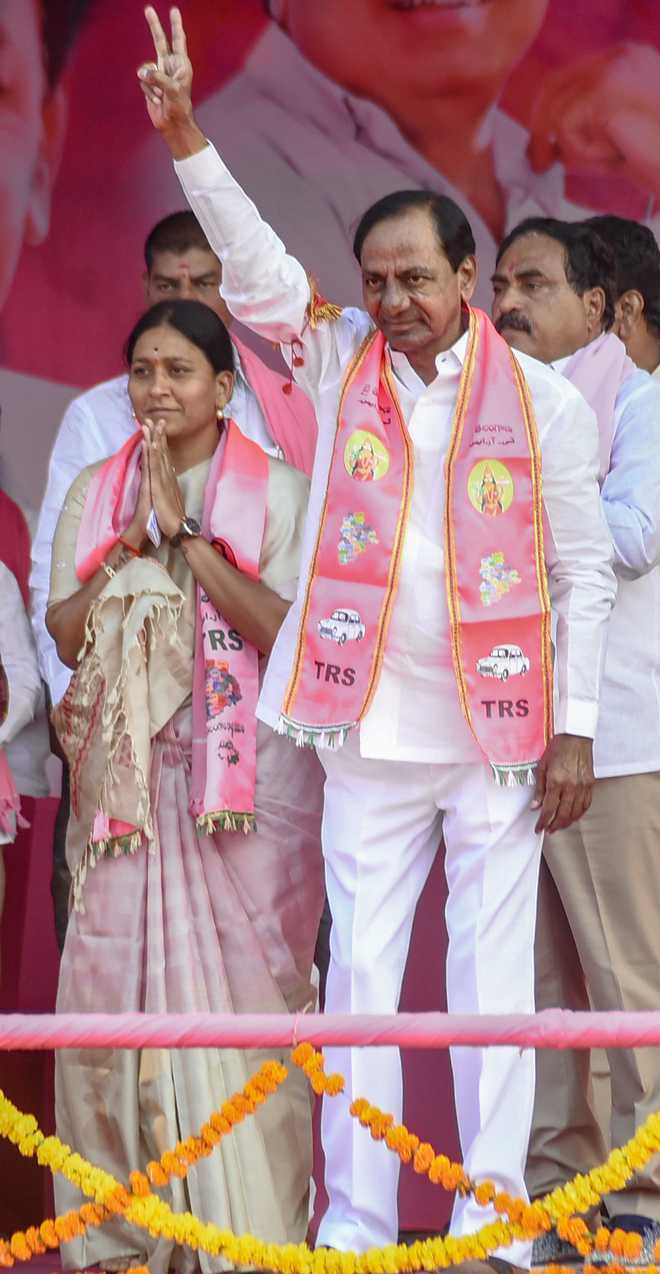 Telangana Chief Minister KCR going soft on Congress surprises all