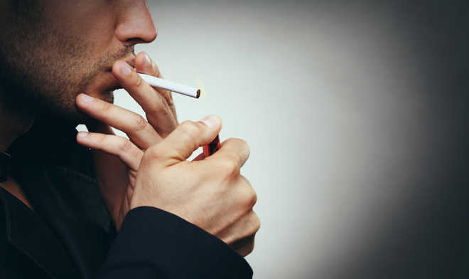 Stop smoking cigarettes before they make you blind