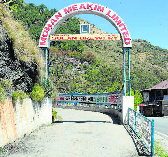 Nehru refused to visit Solan's Dyer brewery, its name was changed