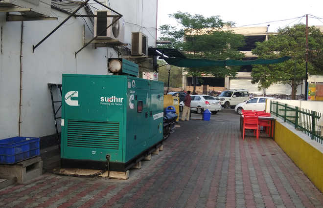 Generator sets lead to encroachments in city