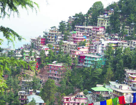 Concrete mess  in McLeodganj a cause for concern