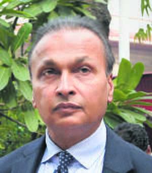 Anil Ambani in  Rs 1,100-cr waiver row