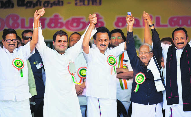In South, DMK-Cong hope to go north