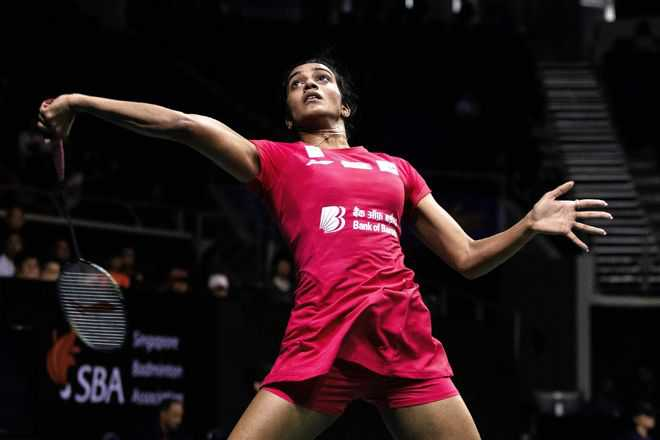 Sindhu gives up fight against Okuhara in semifinals