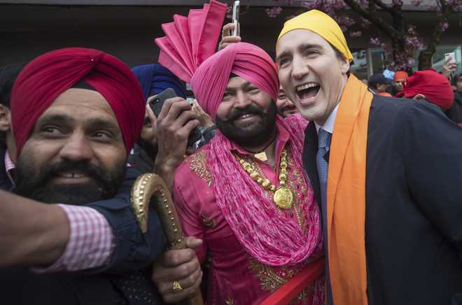 Canada PM praises Sikhs after govt removes reference to Khalistani extremism