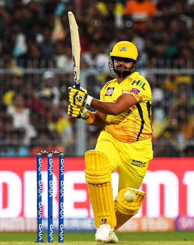 Tahir, Raina earn 5-wicket win for CSK, playoffs in sight