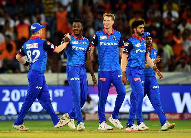 Rabada takes 4; SRH lose 7 wkts  for 15 runs, match