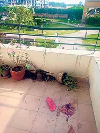 Woman falls off fifth floor, dies