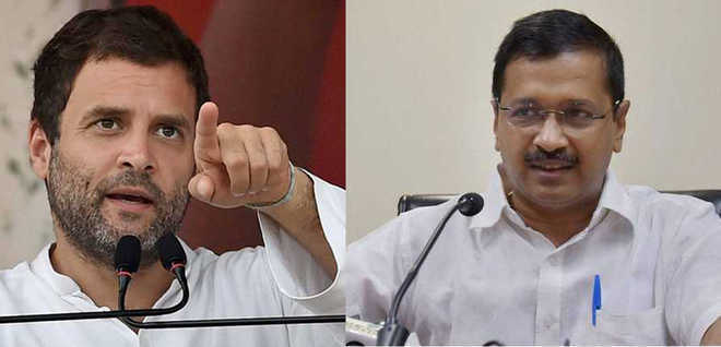 Rahul, Kejriwal trade charges over flagging alliance talks