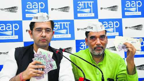 AAP files complaint with EC over undelivered voter ID cards