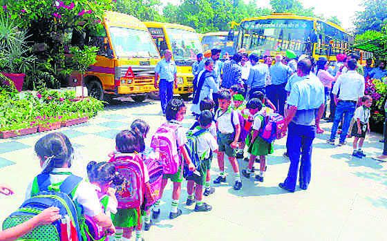 School bus fare up, twice in 6 months; parents fume