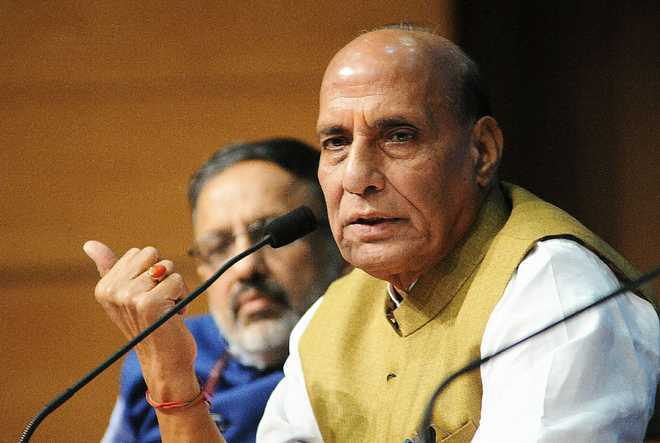 Central govt closely monitoring situation in rain-hit areas: Rajnath